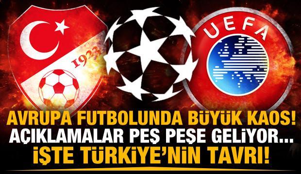Avrupa futbolunda kaosun adı: Avrupa Süper Ligi!
