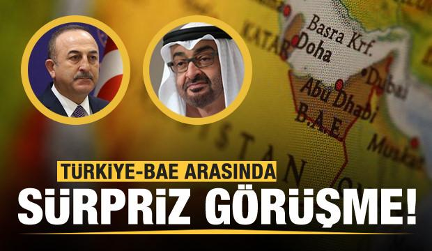Türkiye-BAE arasında sürpriz görüşme!