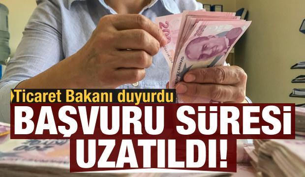 Bakan Muş'tan müjde: Ciro kaybı desteklerinde başvuru süresi uzatıldı