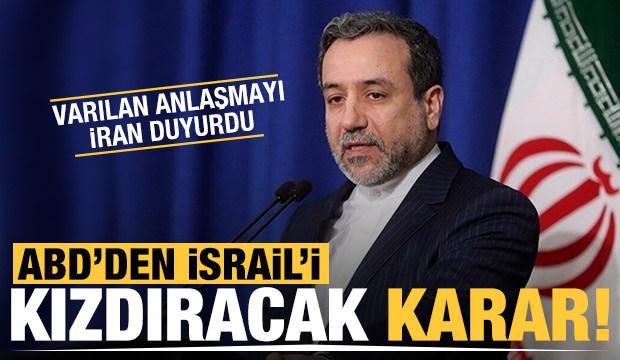 İsrail'i kızdıracak açıklama İran'dan geldi: ABD ile anlaştık