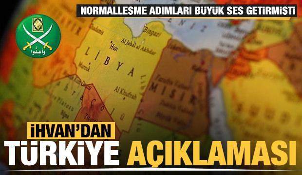 Mısır İhvan'ından önemli Türkiye açıklaması