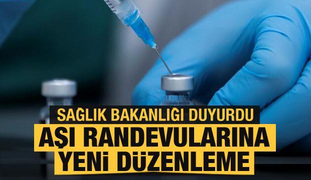 Son dakika haberler... Sağlık Bakanlığı duyurdu: Aşı randevularına yeni düzenleme