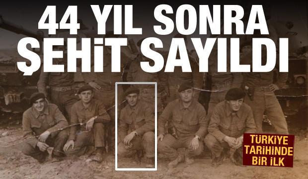 Türkiye tarihinde ilk! 44 yıl sonra şehit sayıldı (7 Mayıs  2021 Günün Önemli Gelişmeleri)