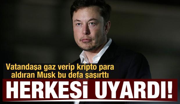 Elon Musk'tan Dogecoin uyarısı: Riske atmayın