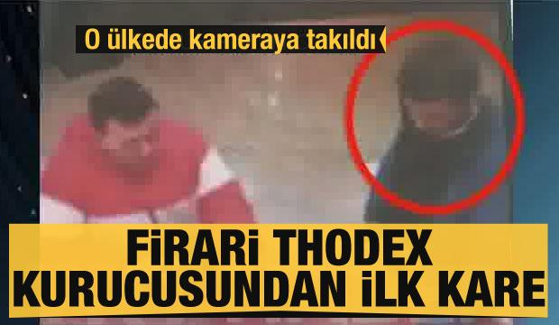 Firari Thodex kurucusu Faruk Fatih Özer'den ilk kare