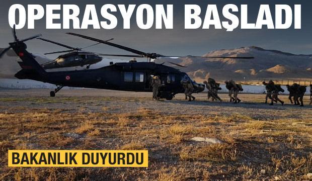 İçişleri Bakanlığı duyurdu: Operasyon başlatıldı