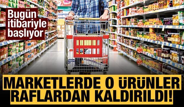 Markette satışı yasaklanan ürünler! A101 BİM ŞOK MİGROS'ta o ürünler raflardan kaldırıldı!