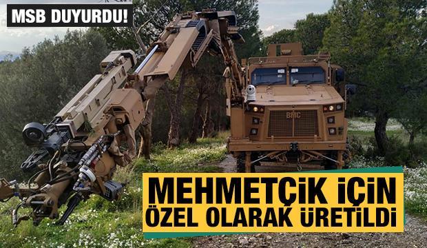 Mehmetçik için özel olarak üretildi... TSK'ya teslim edildi