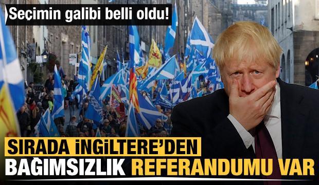 Seçimin galibi belli oldu! Sırada İngiltere'den bağımsızlık referandumu var