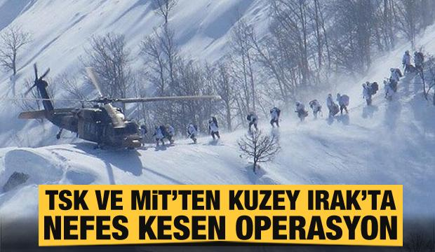 Son dakika: TSK ve MİT'ten Kuzey Irak'ta nefes kesen operasyon!