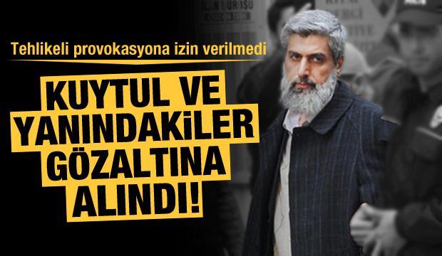 Son Dakika Haberi: Provokasyon affedilmedi! Alparslan Kuytul gözaltına alındı