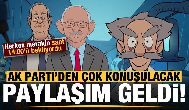 Son dakika: Merakla bekleniyordu! AK Parti paylaşımı yaptı...