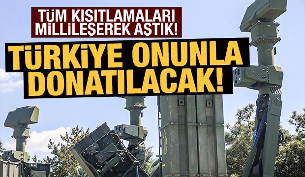 Türkiye, hava savunmada 'Hisar' ile donatılacak!
