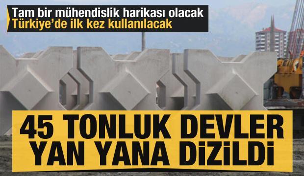 Türkiye'de ilk kez kullanılacak: 45 tonluk onlarca dev!