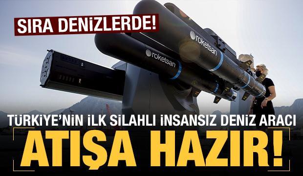 Türkiye'nin ilk silahlı insansız deniz aracı 'SİDA', füze atışlarına hazır!