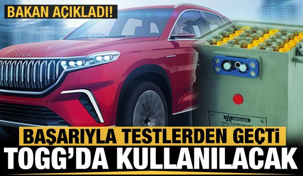 Yerli lityum pili Türkiye'nin Otomobili TOGG'a yetişecek