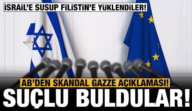 AB'den skandal Doğu Kudüs ve Gazze açıklaması! Filistin'i eleştirdiler...