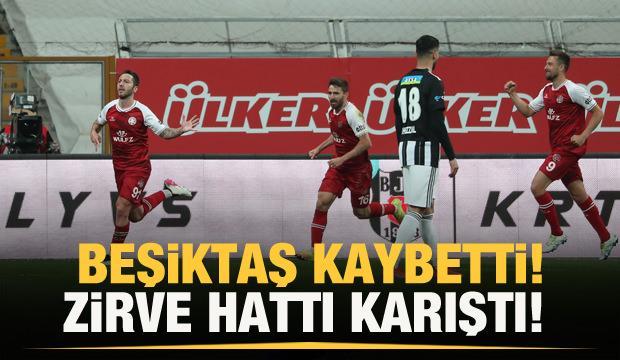 Beşiktaş kaybetti! Zirve karıştı