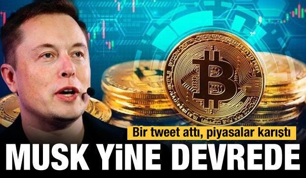 Elon Musk yine devrede! Piyasalar alt üst oldu