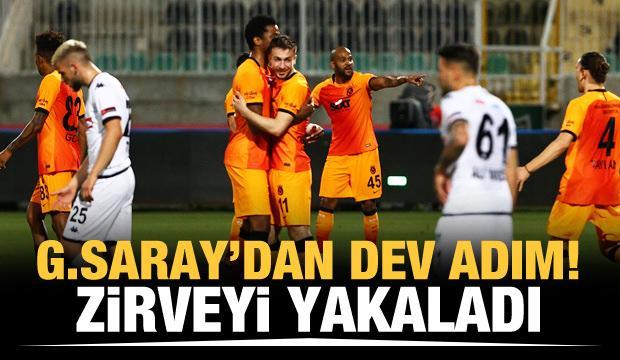 Galatasaray'dan dev adım! Zirveyi yakaladı