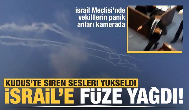 Gazze Şeridi'nden 6 roket! Birçok şehirde sirenler çalıyor