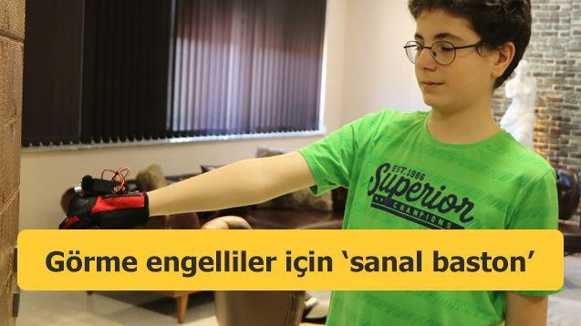 Görme engelliler için 'sanal baston' geliştirdi