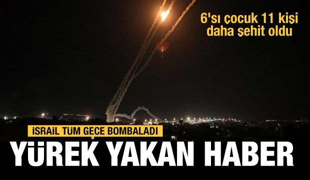 İsrail saldırılara devam ediyor...