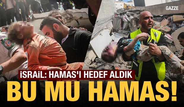 İsrail savaş uçakları Gazze'de sivilleri bombalıyor! Kahreden fotoğraflar...