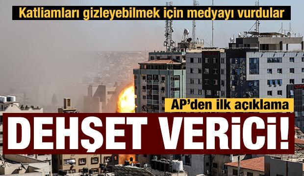 İsrail'in medya ofisini vurduğu saldırıya tepkiler
