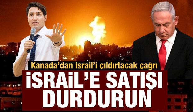 Kanada'dan İsrail'e yaptırım hamlesi!