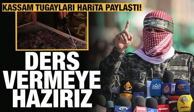 Kassam Tugayları'ndan işgalci İsrail ordusuna video mesaj: Hazırız