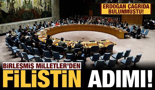 Son dakika: BM'den Mescid-i Aksa için toplantı kararı!