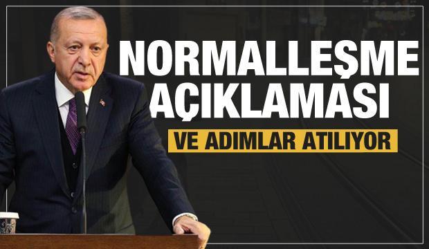 Son dakika: Erdoğan'dan bayram sonrası normalleşme açıklaması geldi
