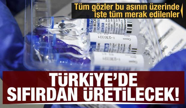 Türkiye'de sıfırdan üretilecek! İşte Rus aşısı Sputnik V hakkında merak edilenler