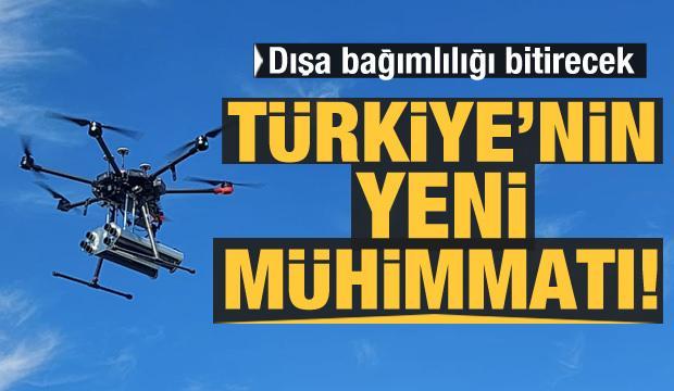 Türkiye'nin yeni mühimmatı! Dışa bağımlılığı bitirecek