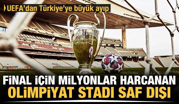 UEFA, Şampiyonlar Ligi finalini İstanbul'dan aldı!