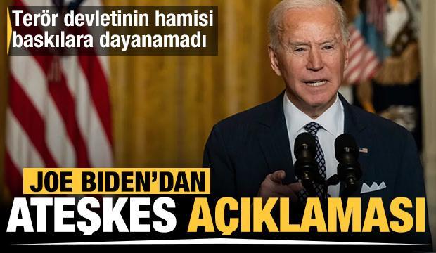 ABD Başkanı Joe Biden'dan Netanyahu'ya: Bölgede ateşkes sağlanmalı