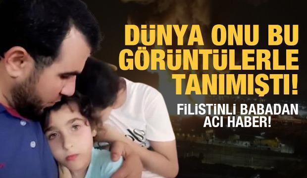 Dünya onu bu görüntülerle tanımıştı! Filistinli babadan acı haber