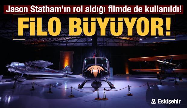 Eskişehir'de film yıldızı uçakların da sergilendiği müzenin filosu genişliyor