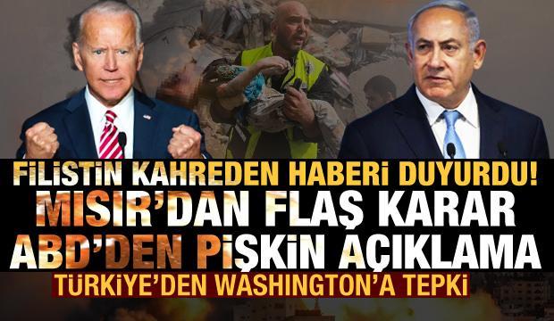 Filistin kahreden haberi duyurdu! ABD'den pişkin açıklama, Türkiye ve Rusya'dan tepki