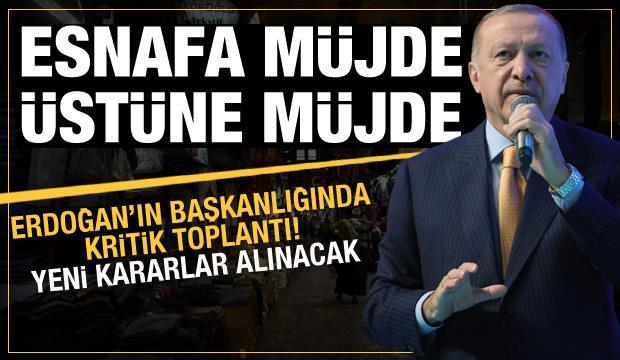 Gözler Erdoğan'ın açıklamasında: Esnafa bir dizi müjde