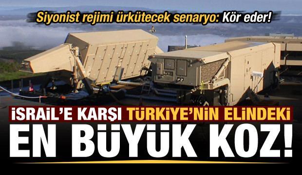 İsrail'in saldırgan politikasına karşı Türkiye'nin elindeki en büyük koz! Kör olur...