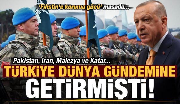 Son dakika: Türkiye dünya gündemine getirmişti! 'Filistin'e koruma gücü' masada...