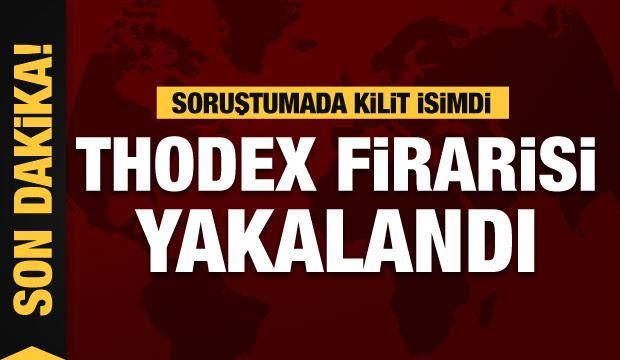 Soruşturmada kilit isimdi! Thodex firarisi yakalandı
