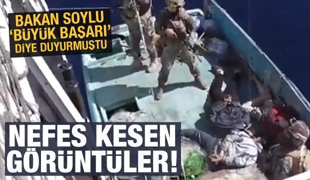 Türkiye büyük başarıya imza atmıştı: Operasyonun görüntüleri paylaşıldı
