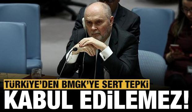 Türkiye'den BMGK'ye Filistin tepkisi!