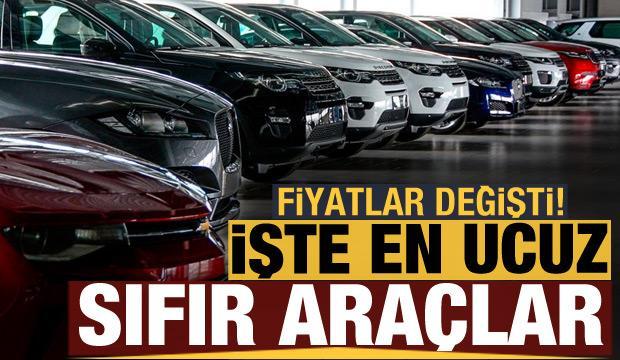 Haziran ayında fiyatlar değişti! İşte Türkiye'de satılan en ucuz sıfır araçlar