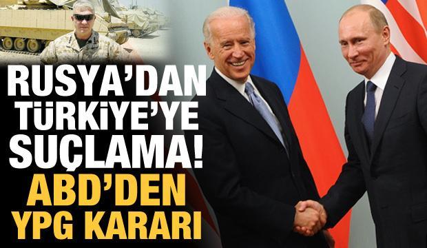 Rusya'dan Türkiye'ye Kırım suçlaması! ABD'den YPG hamlesi