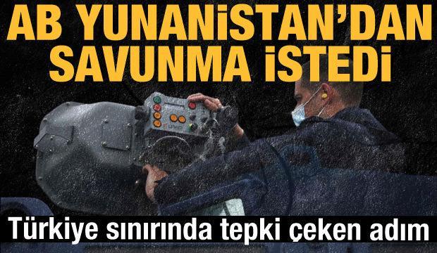 Yunanistan'dan Türkiye sınırında tepki çeken uygulama! AB savunma istedi