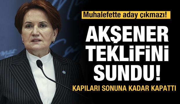 Akşener teklifini sundu! Muhalefette HDP çıkmazı